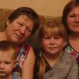 три поколения Поповых из Калинкино