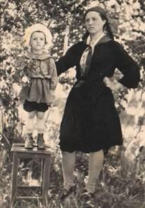 Павлина Чухонцева с дочкой Людмилой