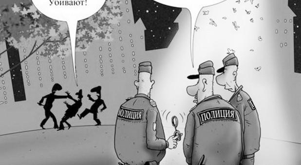 """За что """"стыдно"""" полиции?"""