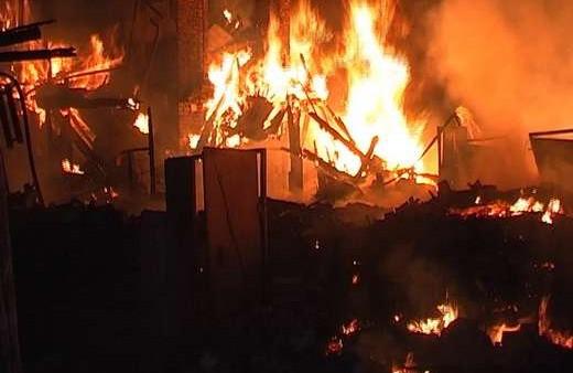Огонь отобрал крышу над головой