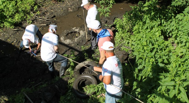 С начала реализации проекта ОНФ «Генеральная уборка» в Кемеровской области ликвидировано 16 свалок